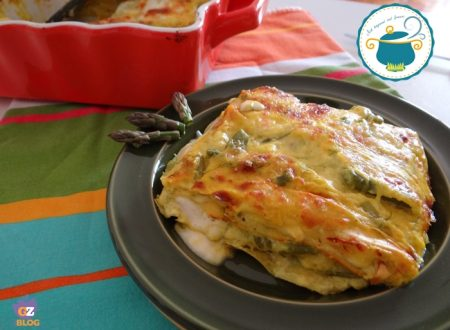 Lasagne agli asparagi e taleggio / ricetta primi