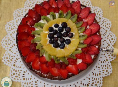 Crostata di frutta e crema chantilly – ricetta dolce-