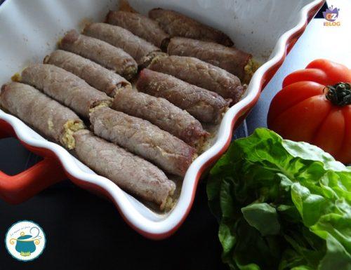 Braciole di carne alla calabra – ricetta tipica –