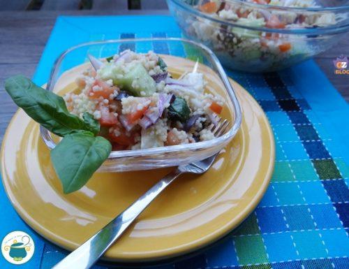 Couscous alla greca – ricetta veloce –