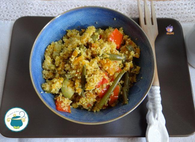 Cuscus all'orientale – ricetta vegana –