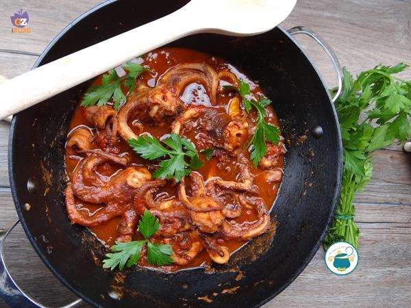 Ricette di cucina pesce moscardini