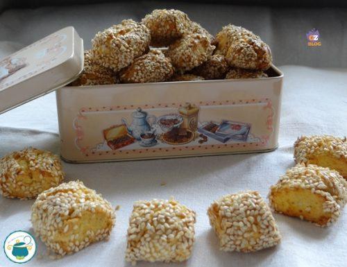Reginelle palermitane – biscotti tipici –