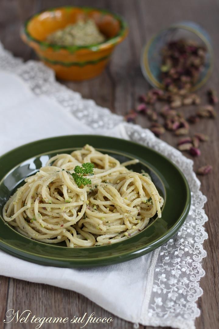 pasta+pesto+pistacchi