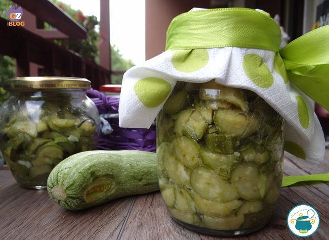 Zucchine trifolate in conserva – conserve –