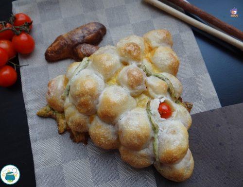 Grappolo di pane ai pomodorini – lievitati naturali –
