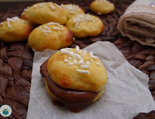 Panini di patate farciti con crema gianduia – ricetta facile –