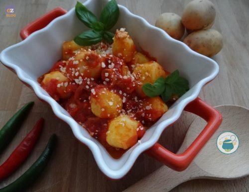 Patate alla amatriciana – piatto unico a base di patate-