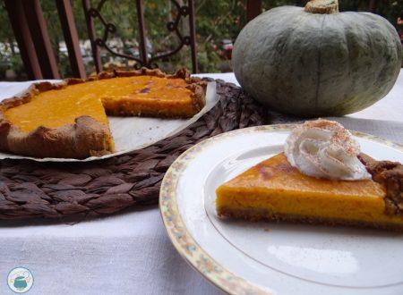Pumpkin pie – ricetta dolce senza glutine –