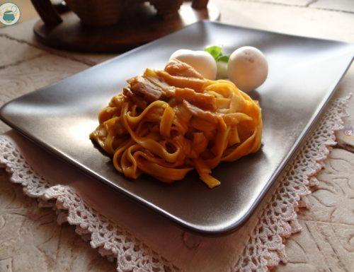Fettuccine ai porcini risottate / Primo piatto