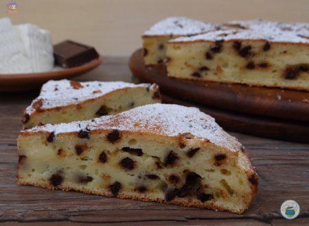 Torta di ricotta e cioccolato / ricetta senza lievito