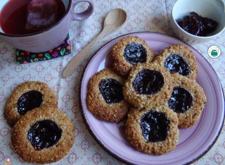 Biscotti al couscous e mandorle veg velocissimi