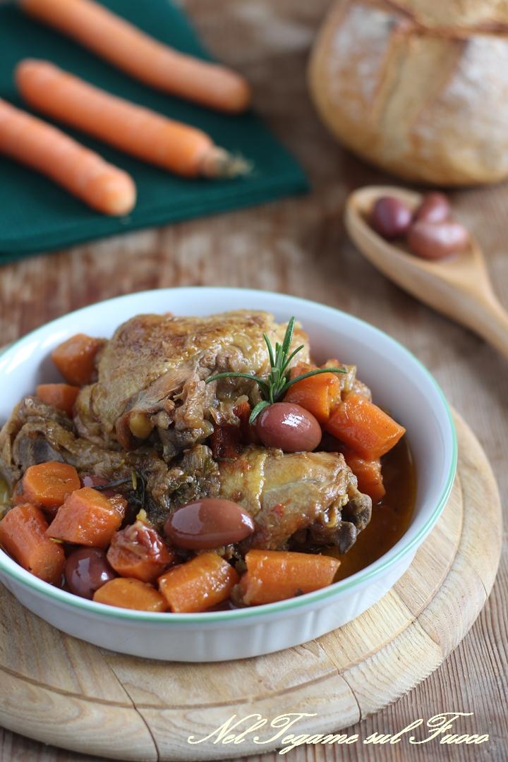 gallo alla cacciatora - come rendere questa carne tenera e gustosa - Come Cucinare Il Gallo