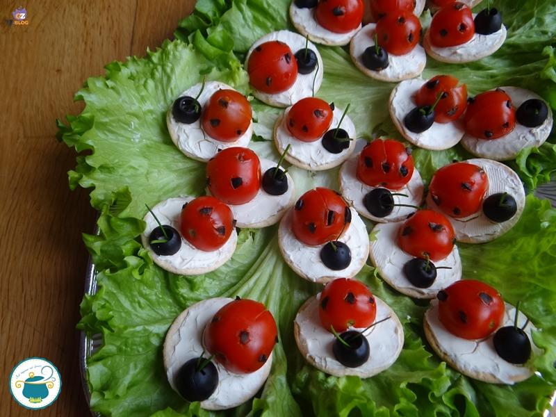 Olive E Coccinelle Di Antipasto Pomodorini 4gZvqw