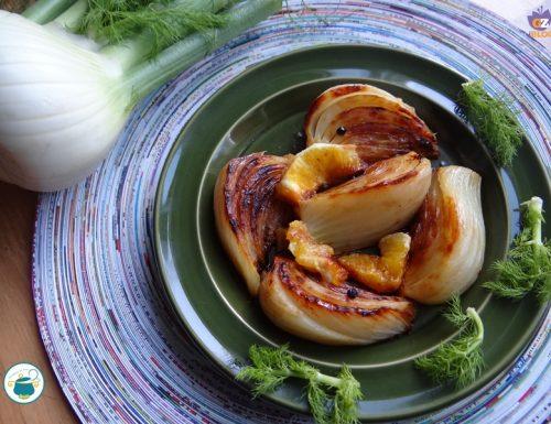 Finocchi brasati con arancia / ricetta contorni