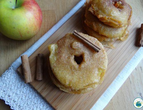Frittelle di mele con pastella integrale