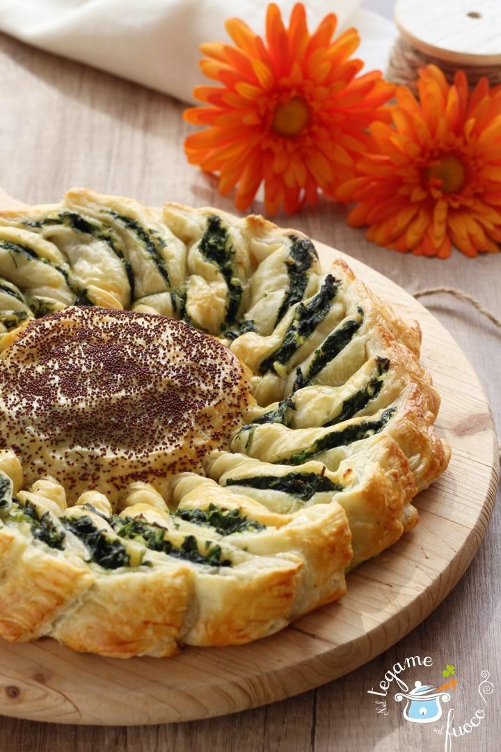torta+salata+girasole