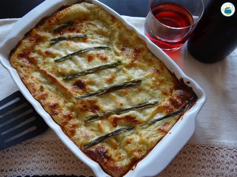 Lasagne al pesto e fagiolini / primo piatto