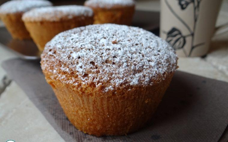 Muffin alla panna e arancia / ricetta glutin free