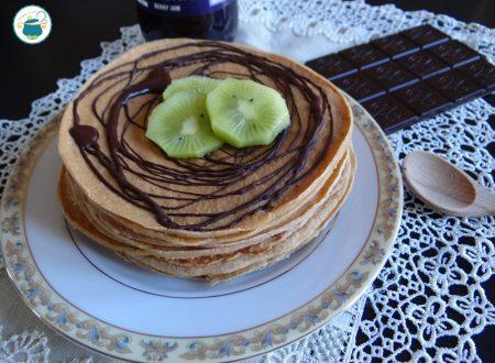 Pancake al farro integrale / ricetta a basso indice glicemico