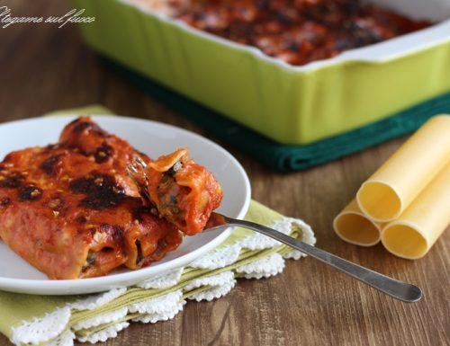 Cannelloni di carne e verdure