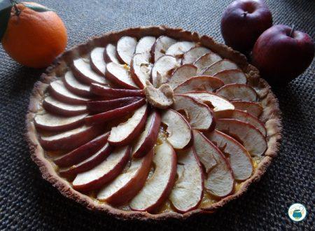Crostata al farro con marmellata e mele