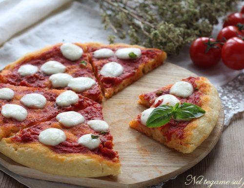 Pizza senza impasto di semola