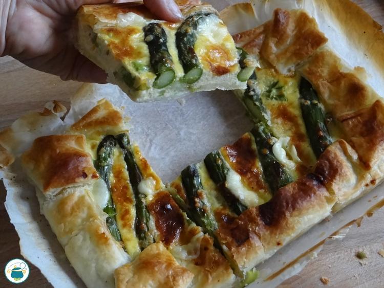 Quiche agli asparagi