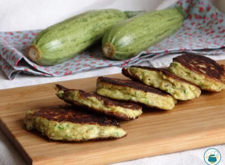 Frittelle di zucchine e ricotta soffici e leggere