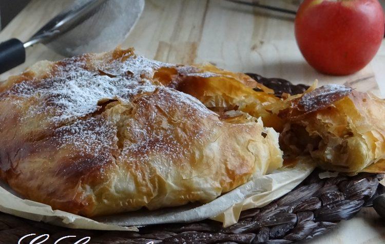 Pastilla dolce marocchina alle mele e mandorle