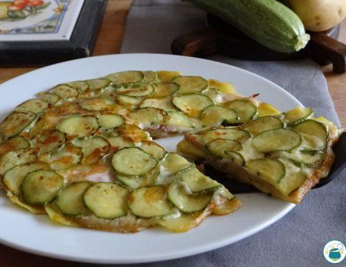 Patate ricche farcite con zucchine