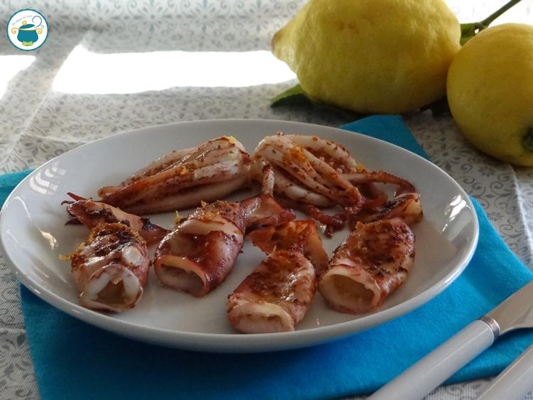 Totani al forno gratinati al limone