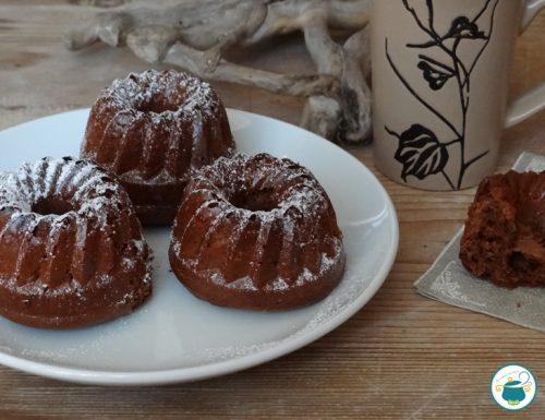 Mini torte alla nutella – ricetta facile