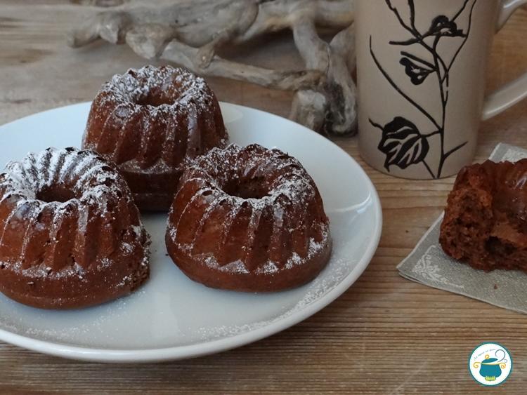 Mini torte alla nutella - ricetta facile