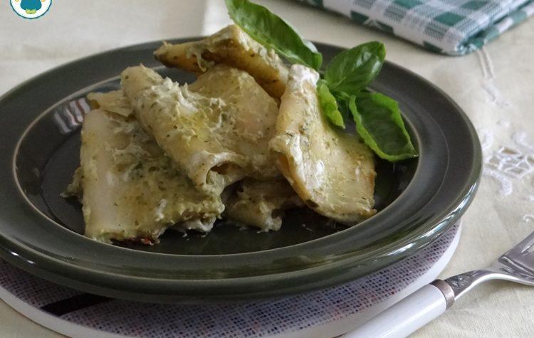 Pasta in crema di zucchine e philadelphia