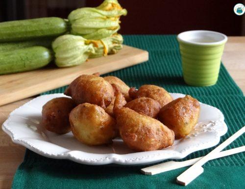 Crispelle di zucchine
