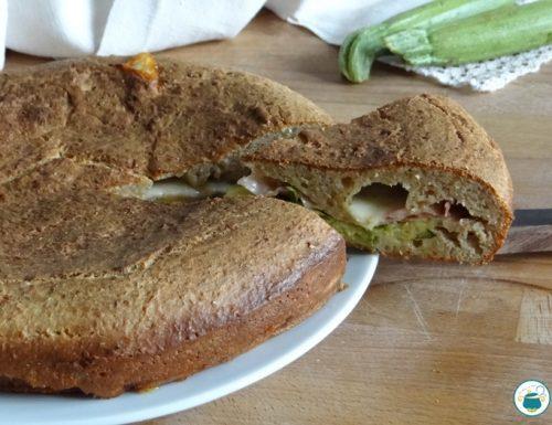 Focaccia con zucchine Bimby – ricetta facile-