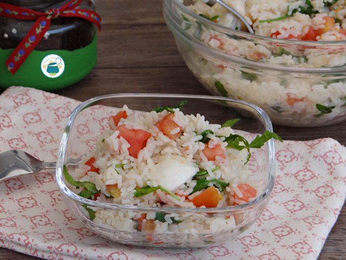 Insalata di riso light e veloce