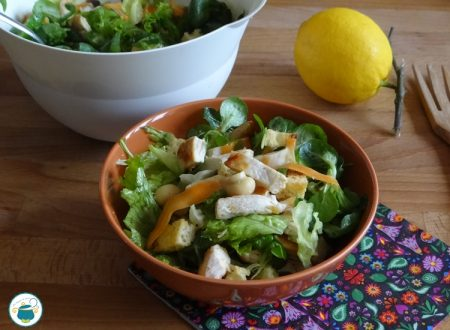 Insalata di pollo veloce e light – ricetta –