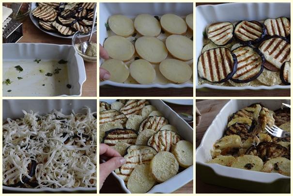 ricetta tortino di melanzane