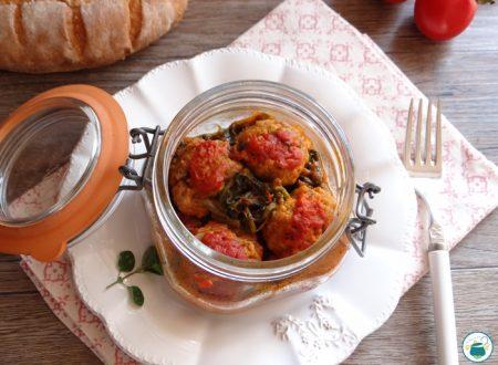 Polpette al sugo con verdure in vasocottura