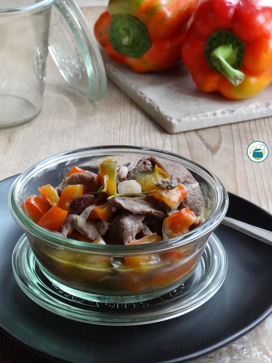 carne cotta in vaso cottura
