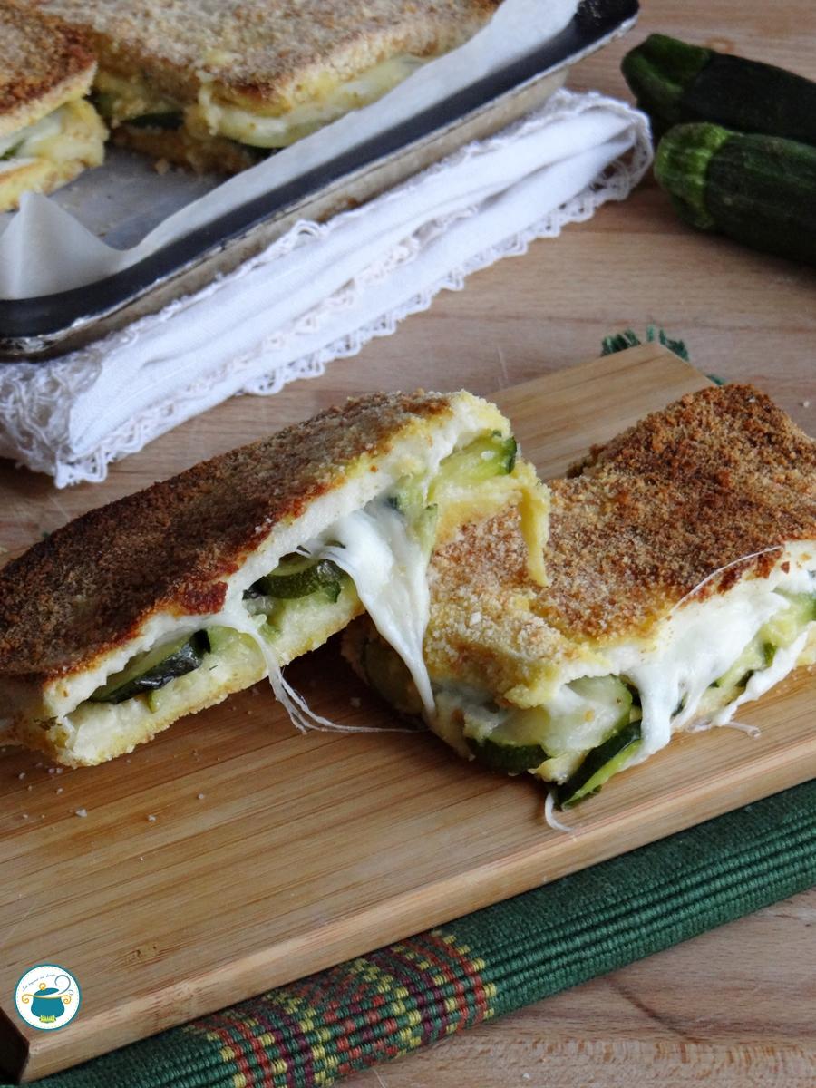 toast vegetariani