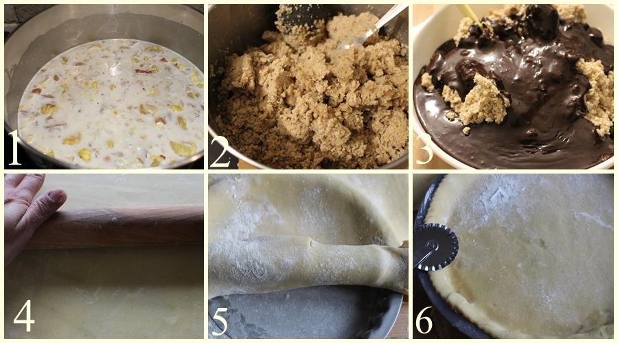 ripieno per dolci a base di castagne
