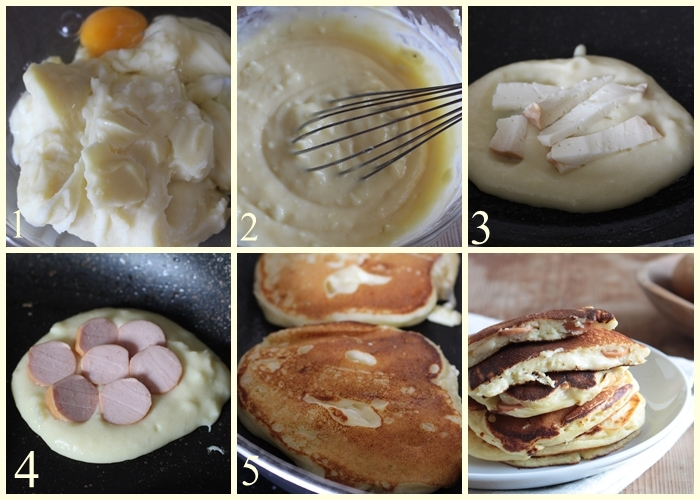 come fare i pancake salati farciti