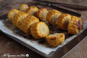 Pannocchie di mais gratinate