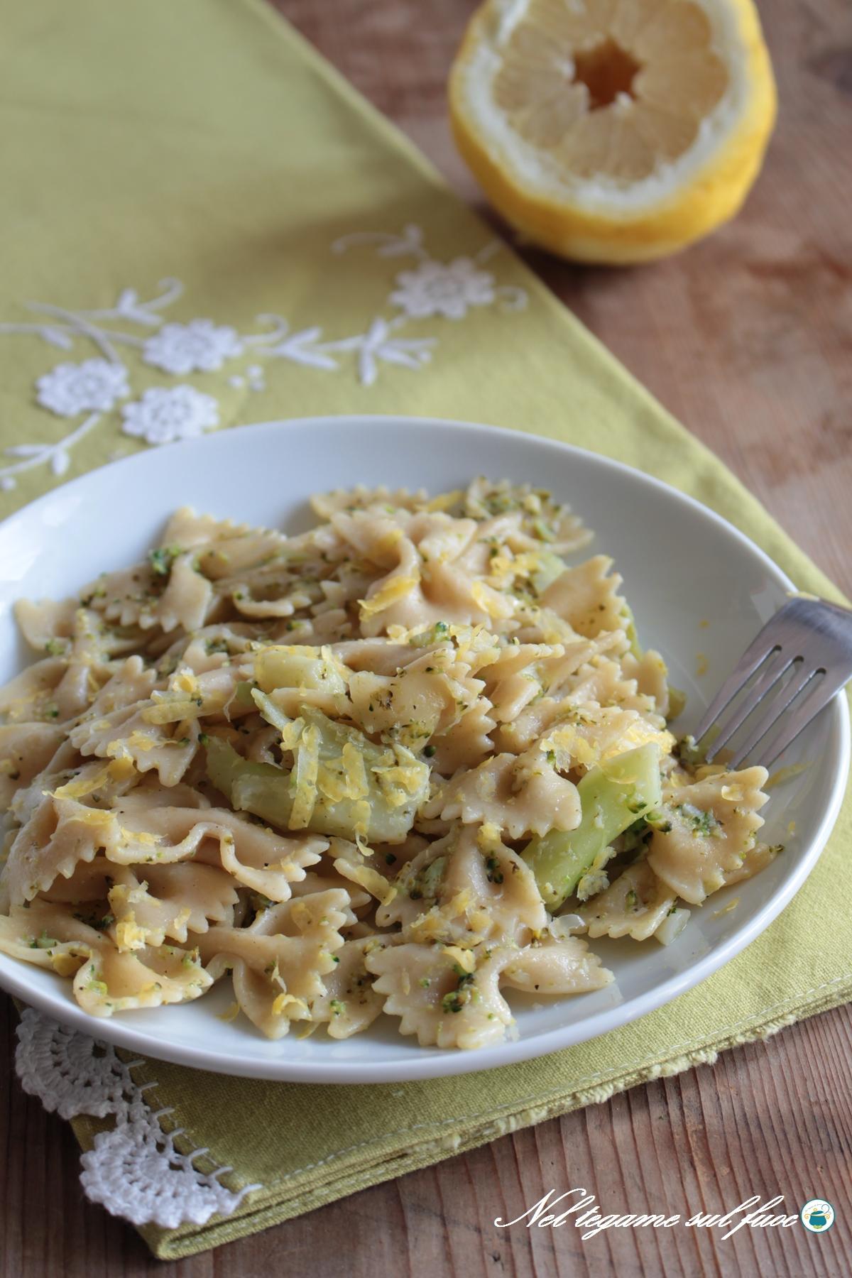 pasta con i broccoli leggera