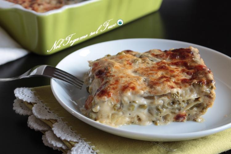 Lasagne con verdure e taleggio