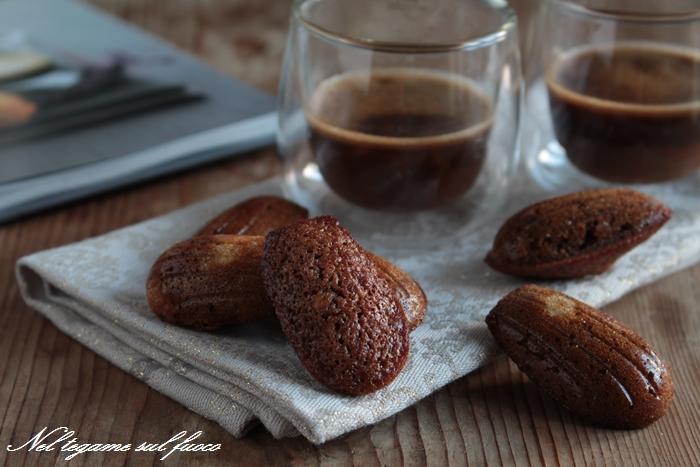Madeleines al caffè