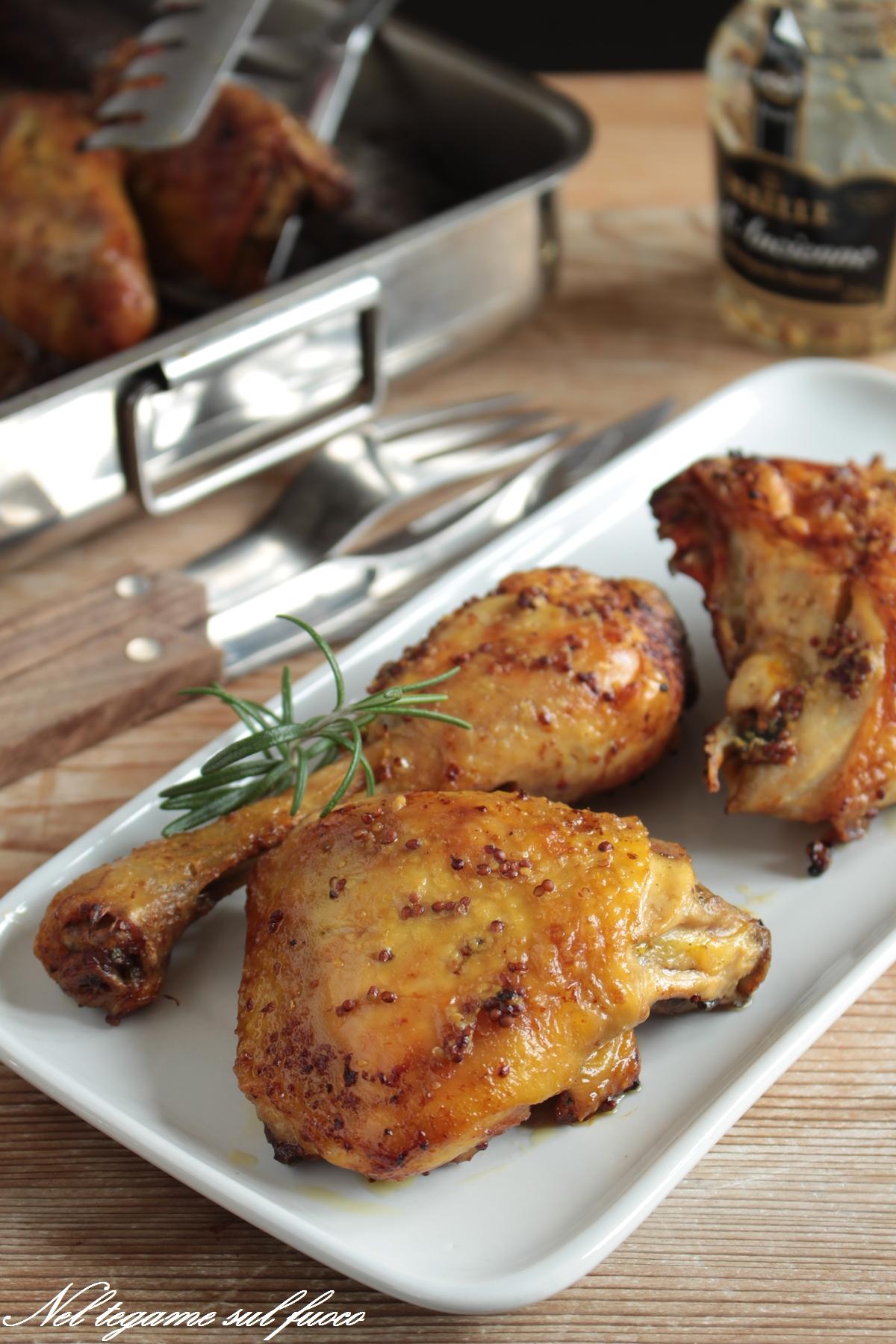 pollo+senape+fiammeggiato+brandy+al forno+